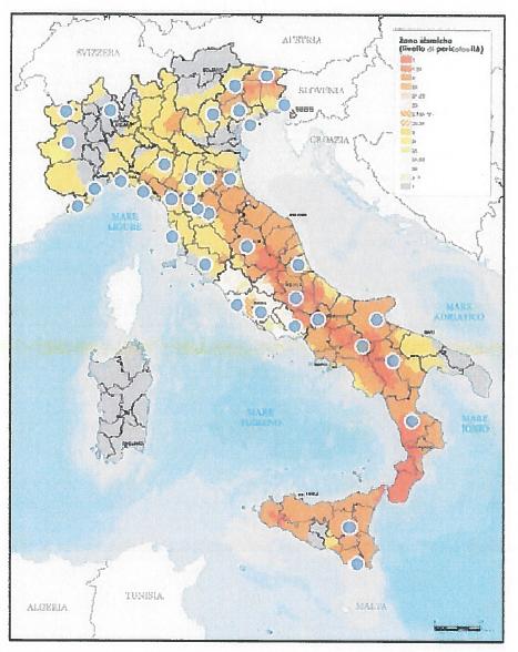 Figura 1 - Distribuzione territoriale del campione rilevato (Fonte Federcasa)