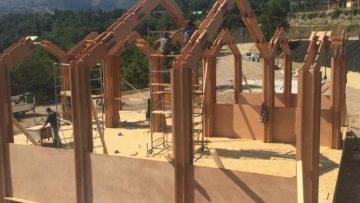 Il legno autoportante per ricostruire Accumoli