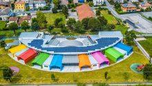 Coperture in alluminio: la nuova Scuola dell'infanzia a Bagnolo Mella