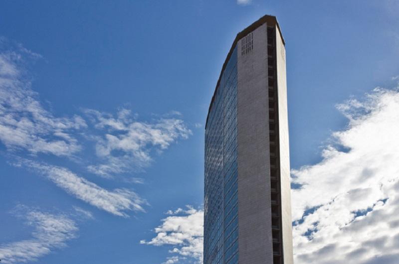 Il grattacielo Pirelli a Milano, sede della Regione Lombardia