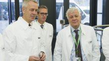 Impianti produttivi intelligenti: il Ministro dell'Ambiente Galletti in visita da Basf