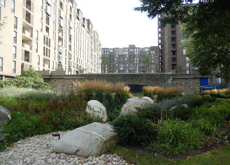 Sistemi di drenaggio urbano sostenibile a Boston, Credits: M. B. Andreucci