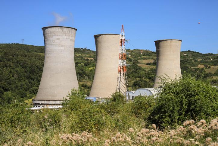 Impianto geotermico a Larderello