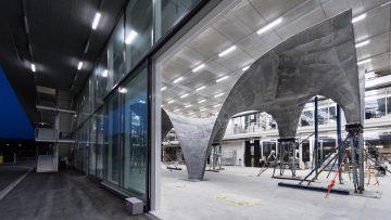 Copertura autoportante e doppia curvatura: NEST HiLo dell'ETH Zurich