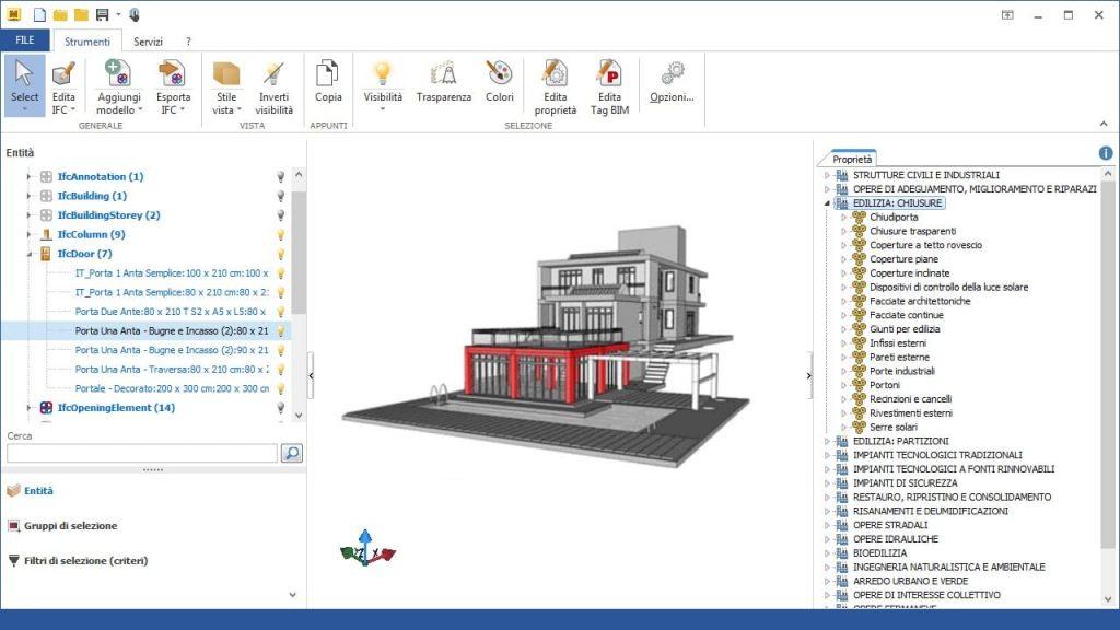 Piano Manutenzione Modelli BIM IFC ManTus