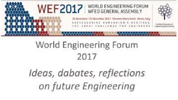 Forum mondiale dell'ingegneria a Roma: temi e programma