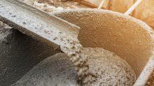 Cemento, prodotto il 7,2% di tonnellate in meno