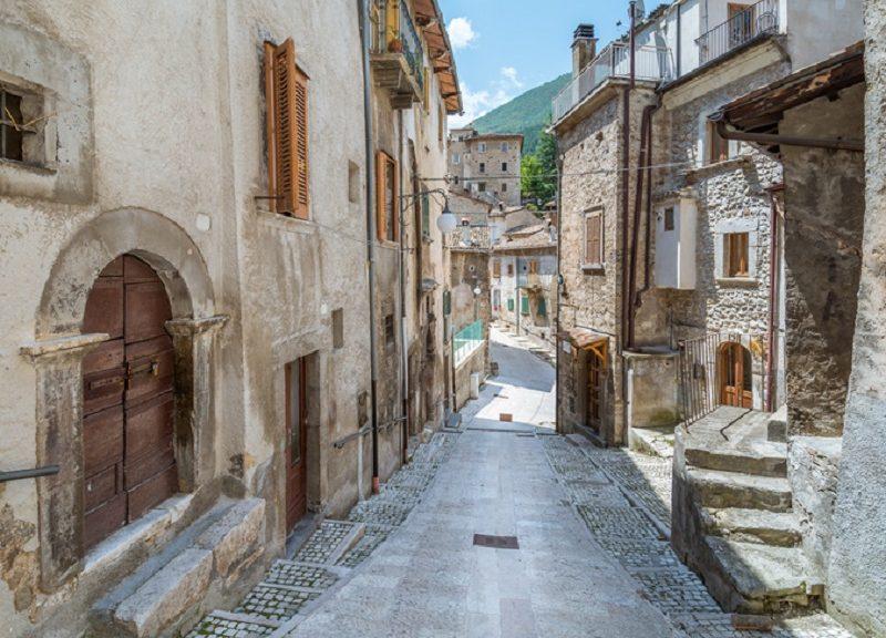 Il borgo di Scanno, in provincia de L'Aquila