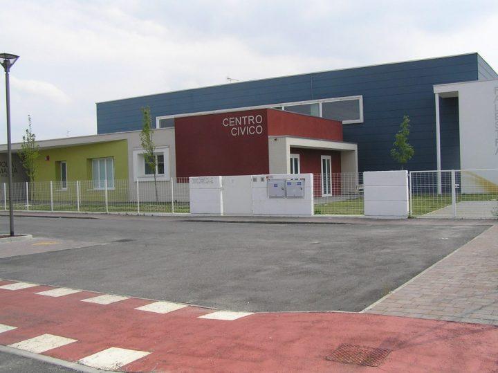 Fig. 2: Vista frontale della scuola di Mortizzuolo di Mirandola. Foto © Consorzio POROTON®