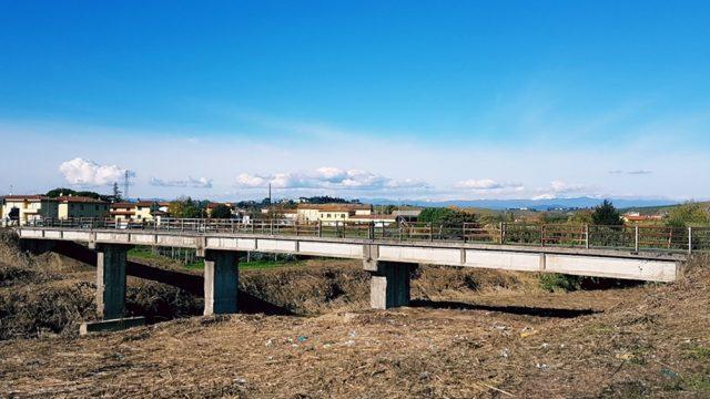 Ponte sul fiume Elsa in località San Miniato (PI)
