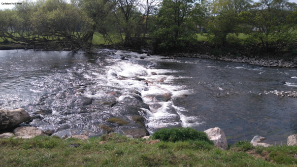 Figura 3 - Carleton Hall weir, Eamont Bridge, near Penrith, Cumbria (Fonte: http://amber.international/)
