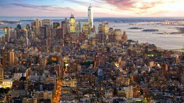 Tetti solari sulle case popolari a New York