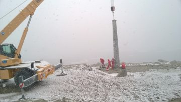 La centrale eolica italiana in Antartide