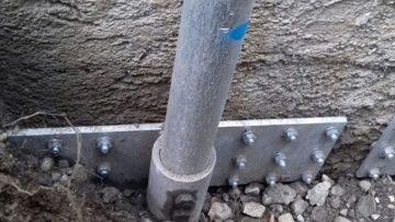 Consolidamento fondazioni: la cabina di manovra dell'Acquedotto di Longarone