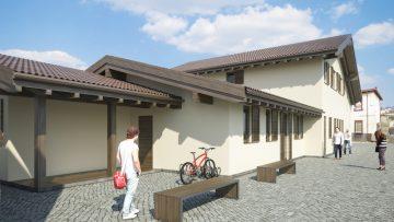 Il municipio di Montereale sarà ricostruito interamente in legno
