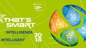 MCE 2018: a That's Smart le soluzioni per una sostenibilità energetica avanzata