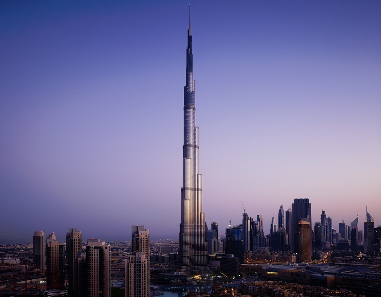 Burj Khalifa - SOM © Nick Merrick for Hedrich Blessing