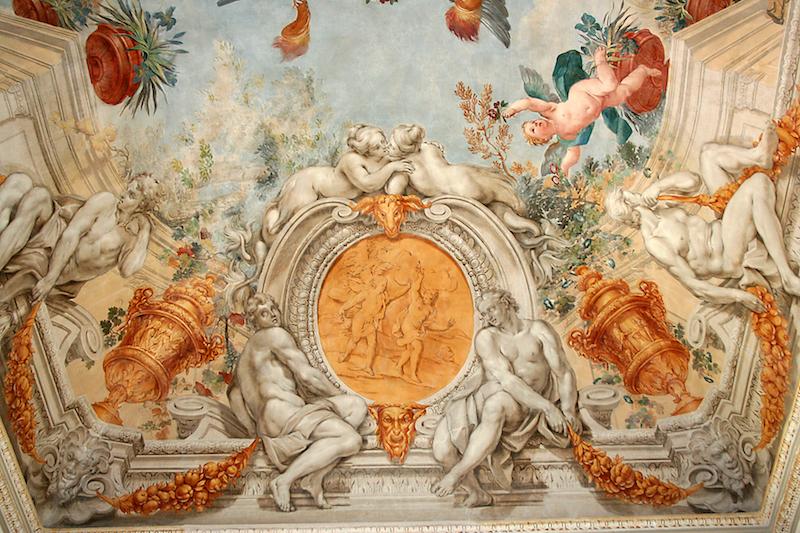 Galleria Barberini particolare Palazzo Orsini Dopo il Restauro copyright defeorestauri
