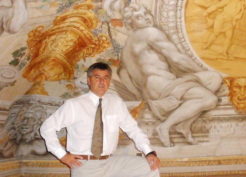 Antonio De Feo Galleria  Barberini Palazzo Orsini Barberini copyright defeorestauri