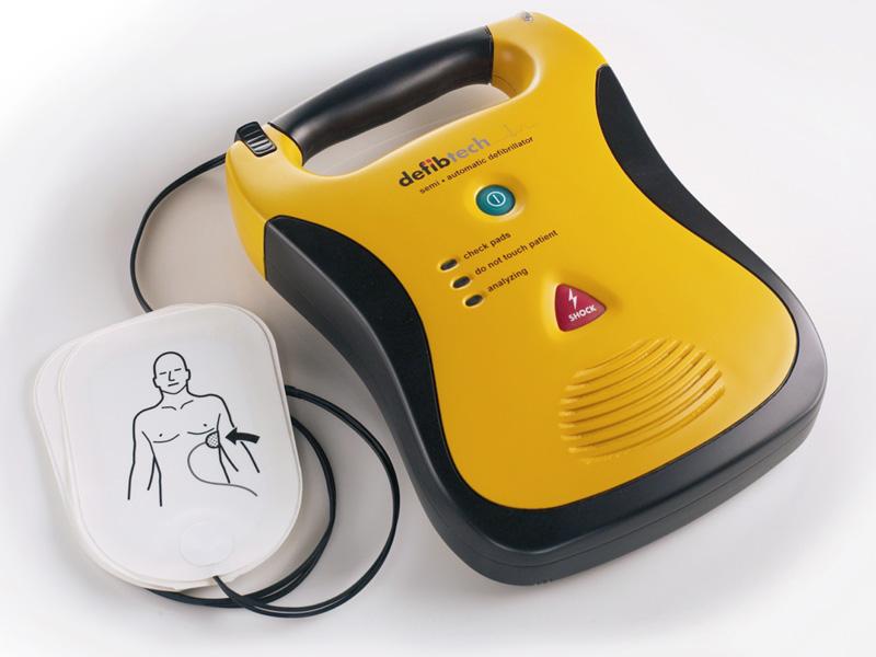 """Defibrillatore Semi-Automatico Esterno """"LIFELINE AED"""" dell'azienda Defibtech"""