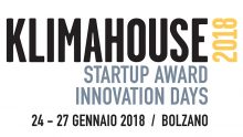 Klimahouse Innovation Days: le 10 finaliste dello Startup Award