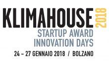 Klimahouse Innovation Days: le 10 finaliste dello Startup Award