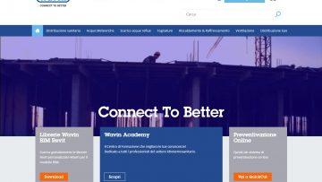 Il nuovo sito di Wavin Italia è online