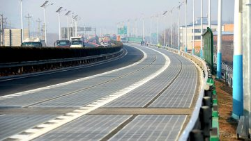 Autostrade solari: la Cina apre il suo primo tratto a Jinan
