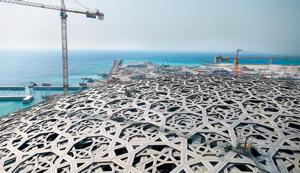 Cupola Louvre Abu Dhabi - courtesy Waagner Biro