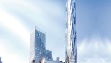 Grattacieli: la Chengdu Greenland Tower in un focus strutturale
