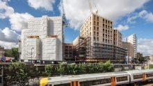 Legno ed edifici multipiano: Dalston Lane