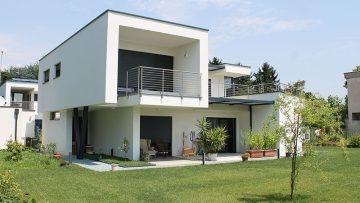 Due case prefabbricate in legno in Brianza: efficienza energetica e progettazione esecutiva