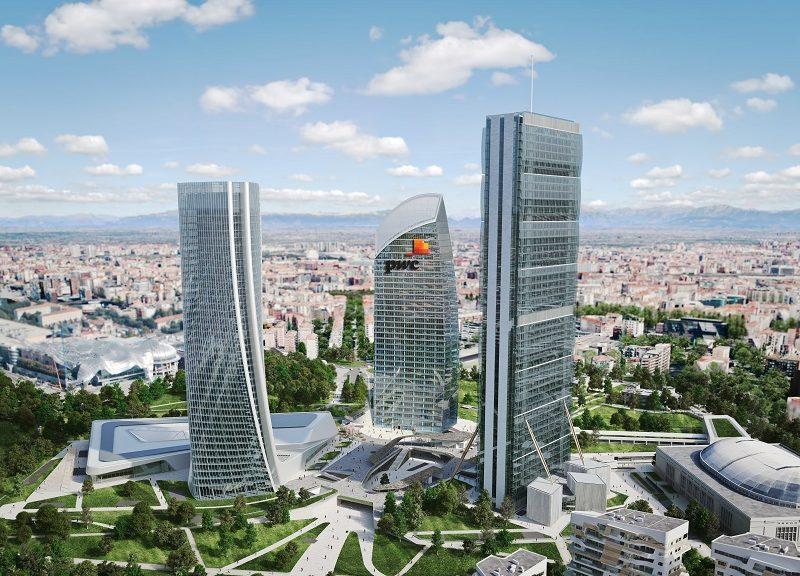 Come sarà il grattacielo curvo al centro della CityLife