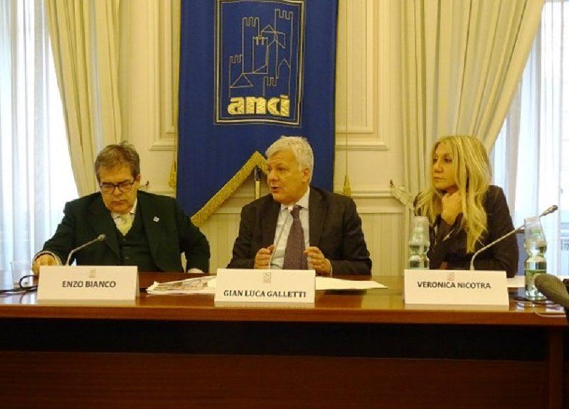 La presentazione del Giubileo della Luce nella sede nazionale dell'Anci.