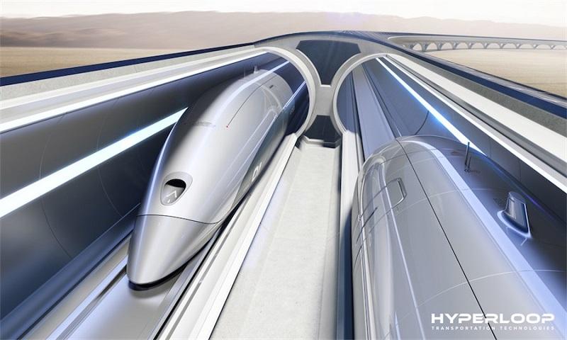 Il treno Hyperloop pronto a sfrecciare negli Stati Uniti