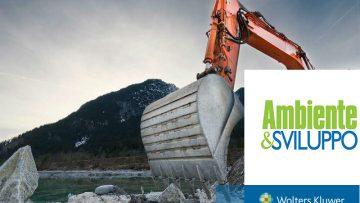 Terre e rocce da scavo: la stabilizzazione a calce e cemento nella nuova disciplina