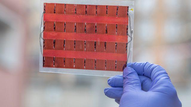 Celle solari nei tessuti: una ricerca del Polimi e dell'Università di Cambridge