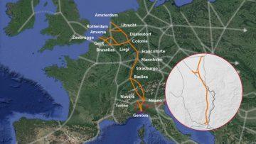 """Terzo Valico dei Giovi: il Corridoio Reno-Alpi """"unirà"""" Genova e Rotterdam"""