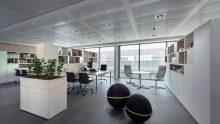 Sistemi radianti a soffitto per gli uffici: tecnica e casi pratici