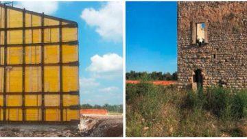 Torre del 1500 traslata di 32 metri: accade in Puglia
