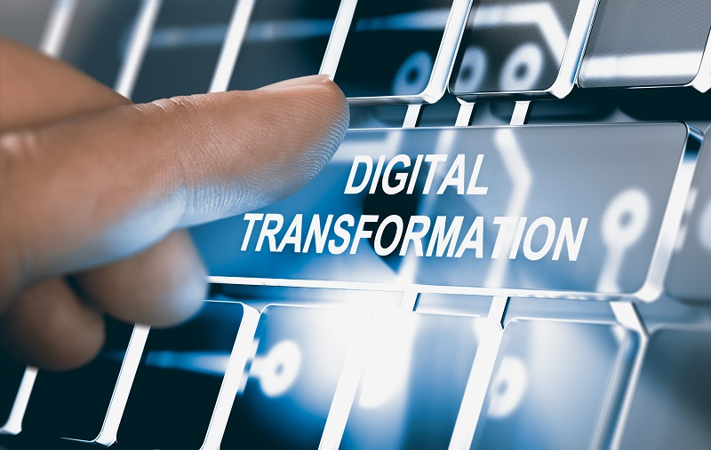Digitalization, Digital Transformation Concept