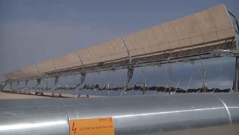 I pannelli solari del progetto MATS