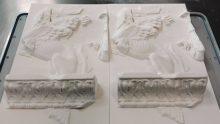 L'Enea ricostruisce in 3d il fregio delle Sfingi della Basilica Ulpia