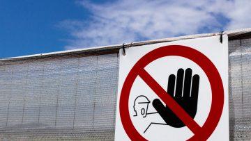 Segnaletica di sicurezza: segnali di prescrizione per i cantieri