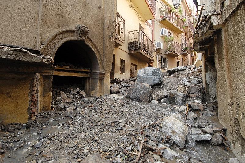 Frana in Sicilia