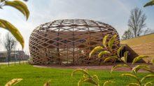 Scuola di danza a Reggiolo di Mario Cucinella Architects: le strutture lignee