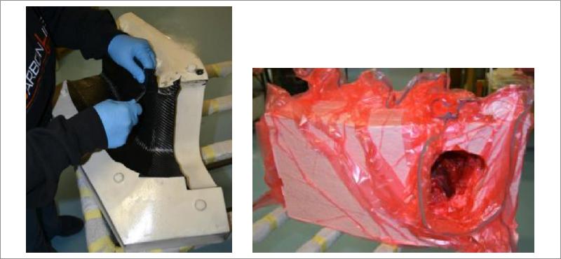 BasKer - processo di laminazione e autoclave - courtesy EEE-CFCC