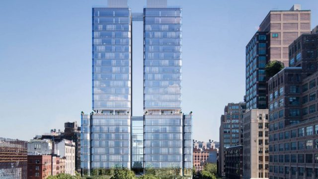 Grattacieli: 565 Broome SoHo di Renzo Piano Building Workshop