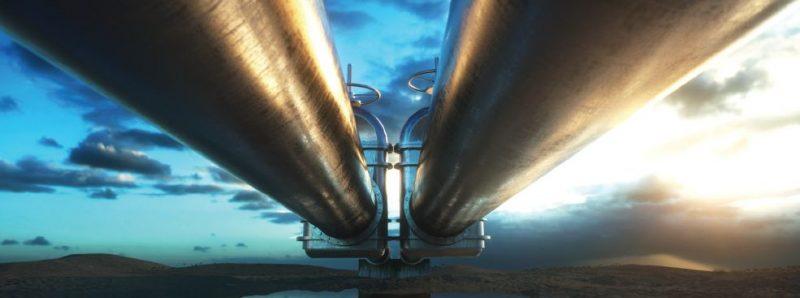 Metanodotto - Fonte: Ministero dell'Energia e dell'Acqua (MEW)