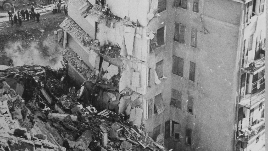 Le immagini della frana di via Digione del 21  marzo 1968